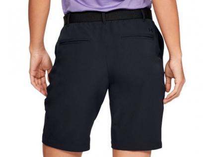 Dámské golfové kraťasy Under Armour Links Short, Black, Mod Gray