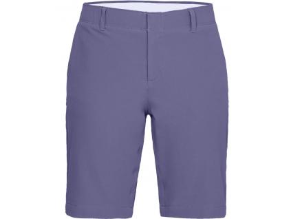 Under Armour Links Short, Black, Purple Luxe, Mod Gray