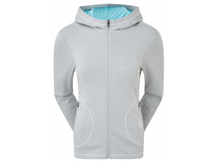 FootJoy Double Layer Jersey Hoodie, Heather Grey