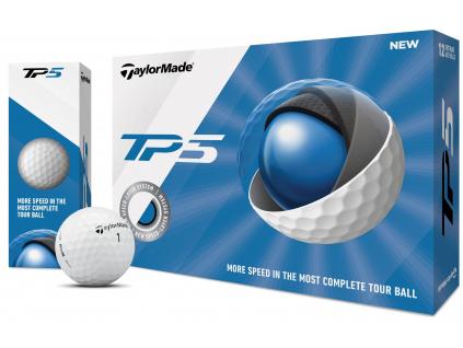 TaylorMade TP5    3 golfové míčky