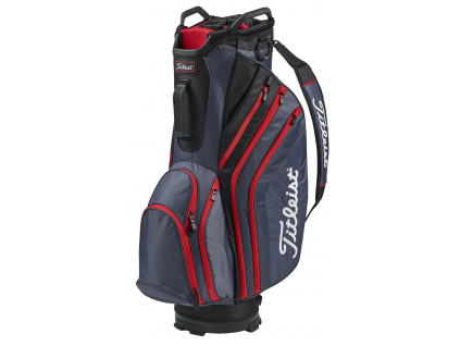 Titleist Lightweight Cart 14, Charcoal, Black, Red