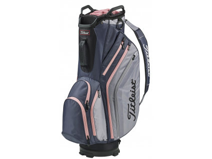 Titleist Lightweight Cart 14, Charcoal, Sleet, Pink