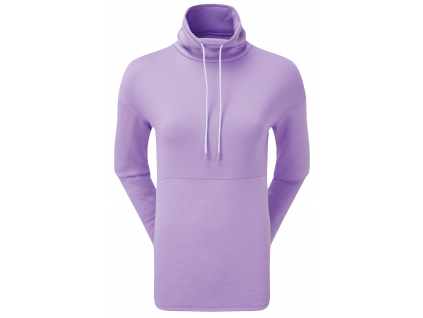FootJoy Funnel Collar Fleece Pullover, Orchid  96082