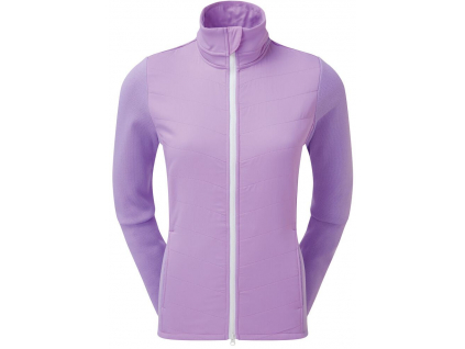 FootJoy Womens Thermal Quilted Jacket, Orchid, White  96098