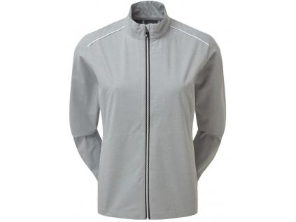 FootJoy HLV2 Womens Rain Jacket, Grey, White  96094