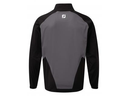 FootJoy Hydroknit 1/2 ZIP, Black, Charcoal  95061