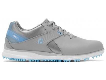FootJoy Pro SL Ladies, Grey, Light Blue