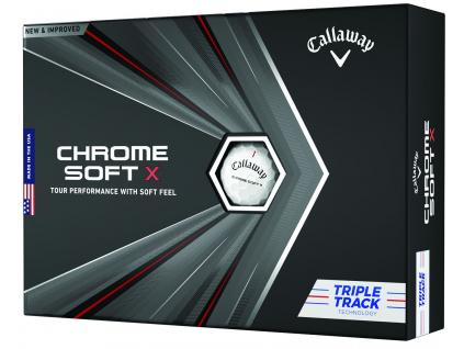 Callaway Chrome Soft X Triple Track  | 3 golfové míčky