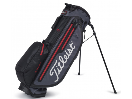 Titleist Players 4 Plus StaDry, Black, Charcoal