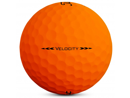 Titleist Velocity 2020, matná oranžová