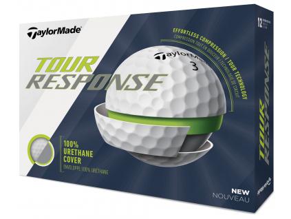 TaylorMade Tour Response, bílé  | 3 golfové míčky
