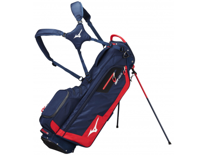 Mizuno BR-D3 Stand bag, Navy/Red