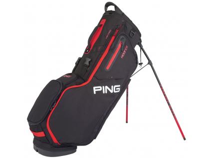 Ping Hoofer, černý, červený