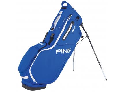 Ping Hoofer, modrý, bílý