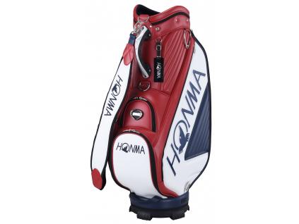 Honma PRO Replica Caddie Bag, Red, Navy