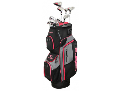 Cobra XL Speed, Black, Pink, sada pro ženy