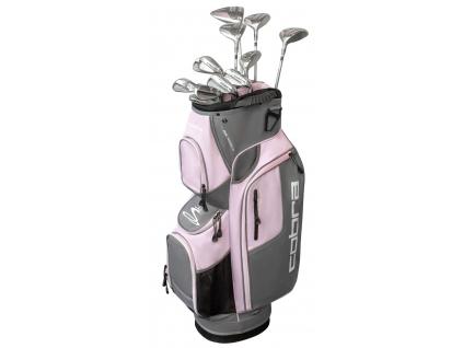 Cobra XL Speed, Silver, Pink, sada pro ženy