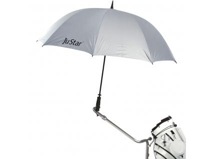 Justar deštník, stříbrný