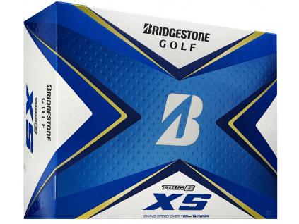 Bridgestone Tour B XS, bílé, 12 míčků