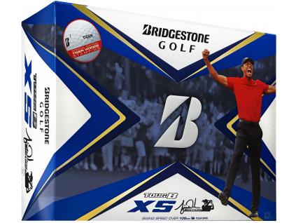 Bridgestone Tour B XS, Tiger Woods Limited, bílé, 3+1 ZDARMA