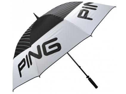 """Ping Tour Umbrella, 68"""", White, Black"""