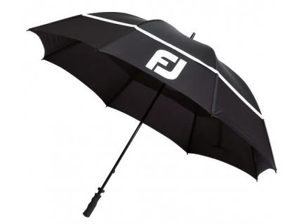 1609 footjoy dryjoys umbrella 68 black white