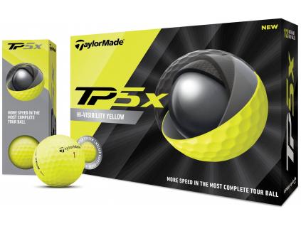 TaylorMade TP5x, žluté