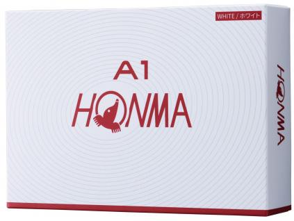 Honma A1, bílé  | 3 golfové míčky