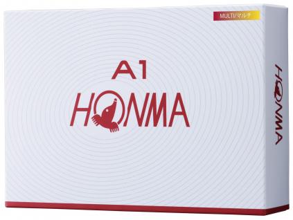Honma A1, multicolor    3 golfové míčky