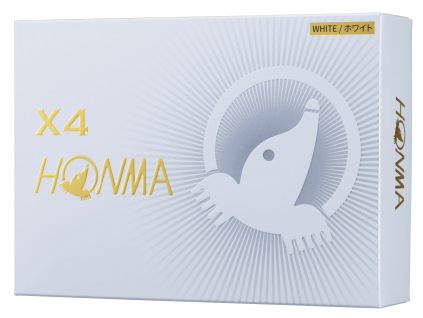 Honma X4, bílé  | 3 golfové míčky