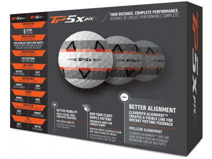 TaylorMade TP5x pix front