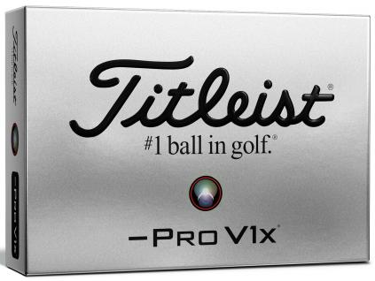 Titleist PRO V1x Left Dash, bílé  | 3 golfové míčky