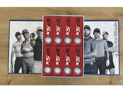 TaylorMade TP5x, 3 + 1 zdarma, golfové míčky