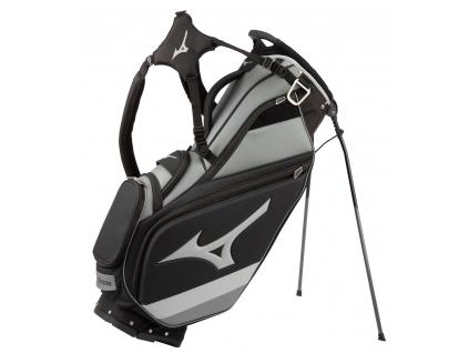 Mizuno Tour Stand bag, Black, Grey