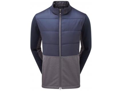 FootJoy Insulated Jacket, Mraine, Charcoal, golfová bunda pro muže