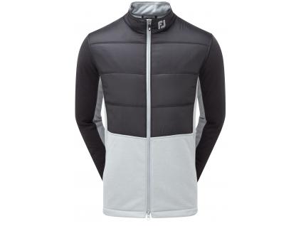 FootJoy Insulated Jacket, Charcoal, Grey, golfová bunda pro muže