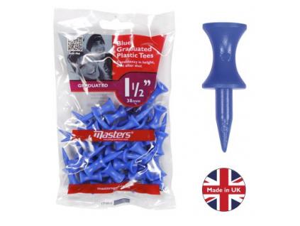 Masters Plastic Graduated Tees 38mm, týčka
