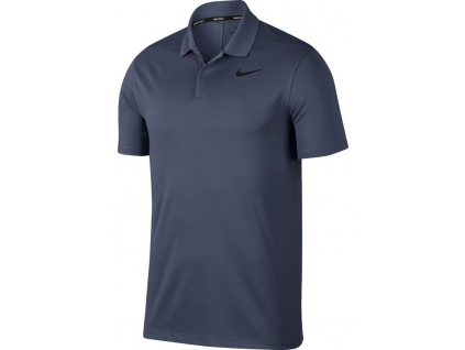 Dry Victory Polo Slim Solid, Light Carbon, White