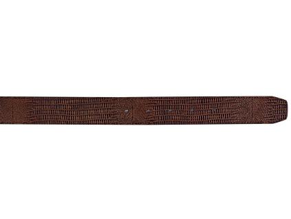 523 footjoy brown croc belt