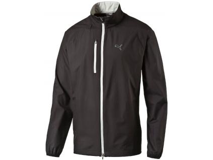 643 puma full zip wind jacket black