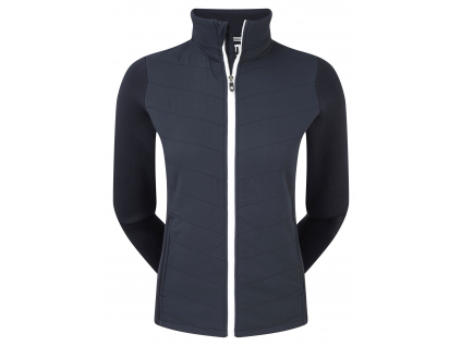 FootJoy Thermal Quilted Jacket, Navy, White
