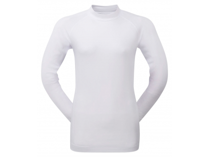703 footjoy womens base layer crew white