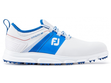 FootJoy SuperLites XP, White, Blue, Red