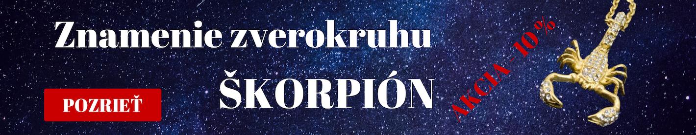 Znamenie zverokruhu škorpion