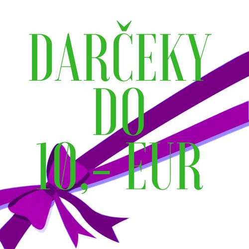 TIPY NA DARČEK DO 10 EUR