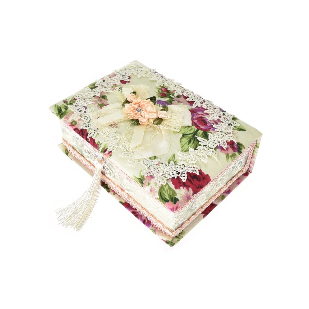 Romantická šperkovnica červené ruže - Roseline