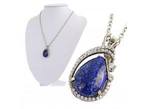 Retiazka s príveskom Lapis lazuli