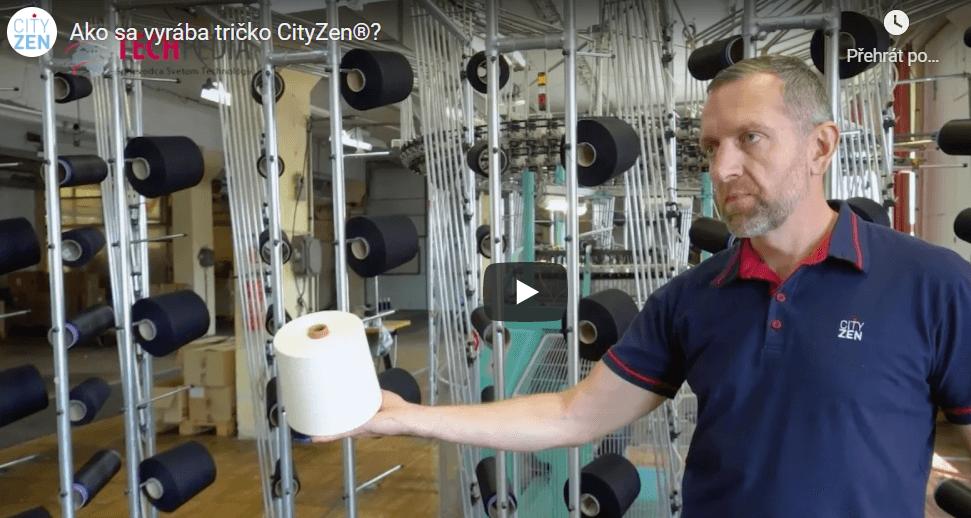 Ako sa vyrába tričko CityZen®?