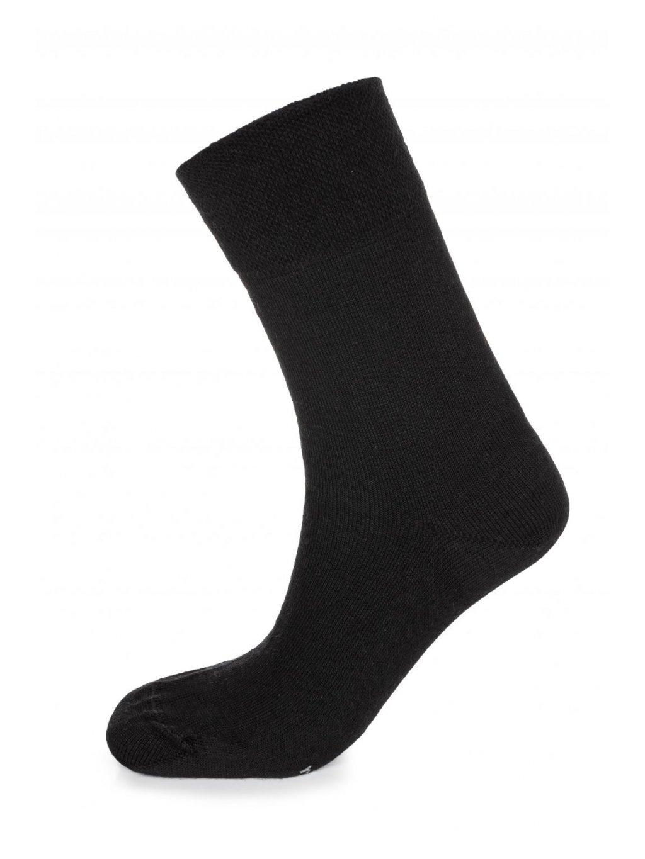 Dámske ponožky CityZen MERINO čierne