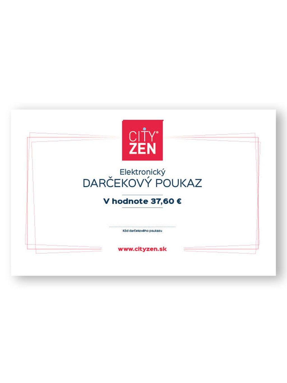 Elektronický darčekový poukaz na tričko CityZen